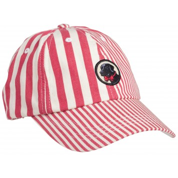 Frat Hat: Patchwork Madras Red